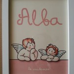 Cuadro infantil de angeles Siempreloquise.com