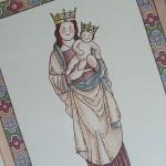Virgen de la Almudena versión infantil de siempreloquise.com