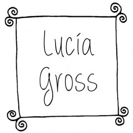 Sello infantil Lucia