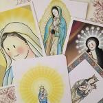 estampas Virgenes infantiles Siempreloquise.com