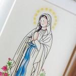 Nuestra versión infantil de la Virgen de Lourdes