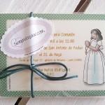 Invitaciones de Primera Comunión personalizas siempreloquise.com