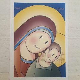 Estampa Virgen del Camino