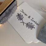 Sello de boda personalizado Siempreloquise.com