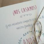 invitación de boda siempreloquise.com