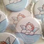 Iman de nevera para bautizo con angelito siempreloquise.com