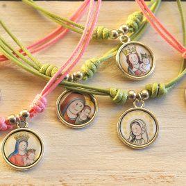 Medalla Virgen infantil