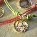 Gargantilla Medalla Virgen infantil  siempreloquise.com