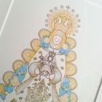 Virgen del Rocío versión infantil siempreloquise.com
