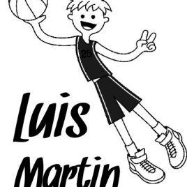 Sello infantil Luis Martín