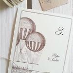 Meseros de boda  globos aerostáticos vintage siempreloquise.com