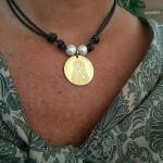 Medalla Virgen del Rocío versión infantil Siempreloquise.com