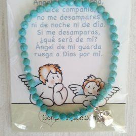 Piedras Turquesa y angelito