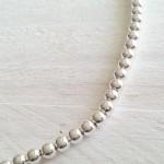 gargantilla bolas de plata siempreloquise.com