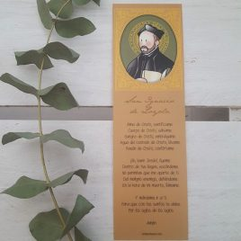 Marcapáginas San Ignacio de Loyola