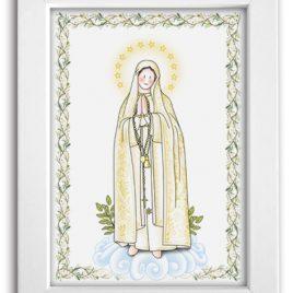 Cuadro Virgen de Fatima