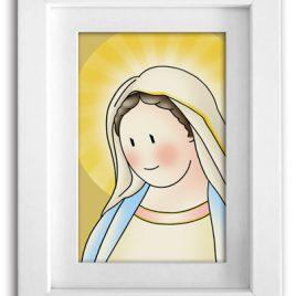 Cuadro Virgen de Medjugorje
