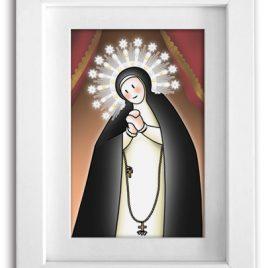 Cuadro Virgen de la Paloma