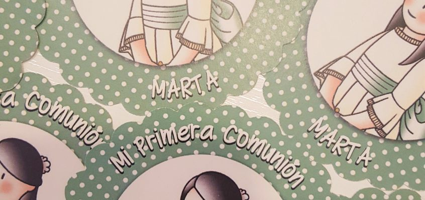 La primera Comunión de Marta