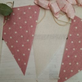 Banderines para decorar candy bar