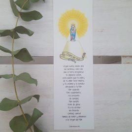 Marcapáginas Virgen del Pilar