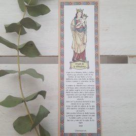 Marcapáginas Virgen de la Almudena