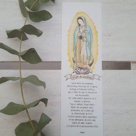 Marcapáginas Virgen de Guadalupe