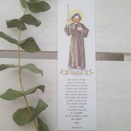 Marcapáginas Santiago Apóstol