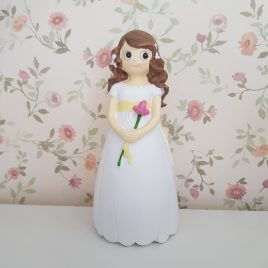 Figura tarta/candy bar niña Primera Comunión