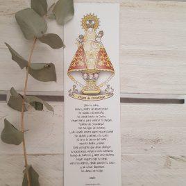 Marcapáginas Virgen de Covadonga