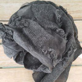 Foulard gris marengo