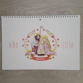 Calendario de Pared 2018