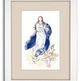 Cuadro Virgen Inmaculada Concepción