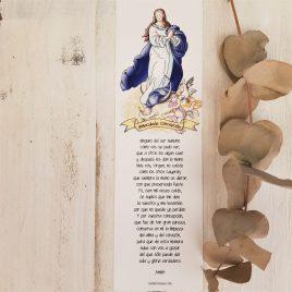 Marcapáginas Inmaculada Concepción