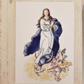Estampa Inmaculada Concepción