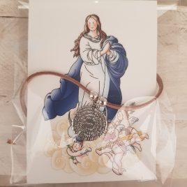 Colgante Ave María y antelina
